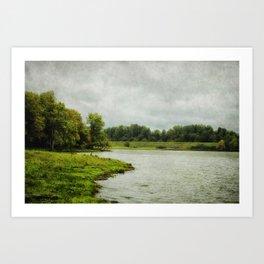 Sauvie Island Art Print