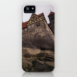 Quedlinburg Castle iPhone Case
