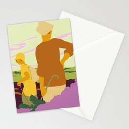 Yorkshire Moors hiking Stationery Cards