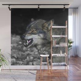 Big bad wolf Wall Mural