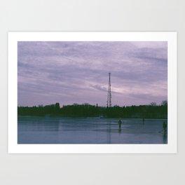 Lake Rink Art Print