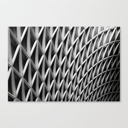 The Grid Canvas Print