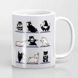 Shiba Yoga Coffee Mug