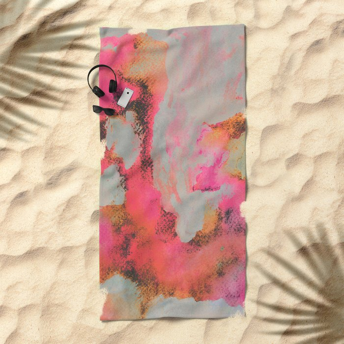 Bright Day Beach Towel