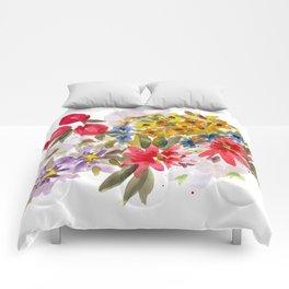 Farmers Market Bouquet 1 Comforters