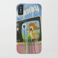 candy iPhone & iPod Cases featuring CANDY by Chris Arran