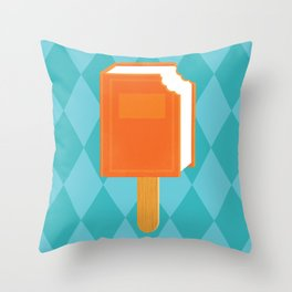 Summer Reading Throw Pillow