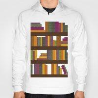 books Hoodies featuring Books by Sara Robish Andrews