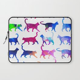 Colorful Cats Laptop Sleeve