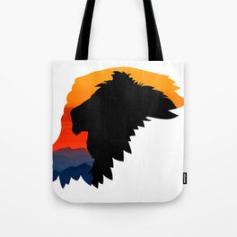 Griffon Rider Tote Bag
