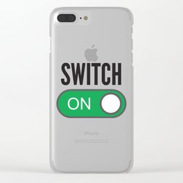 Switch On Clear iPhone Case