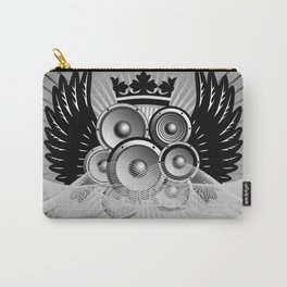 Abstract music illustration with wings Carry-All Pouch