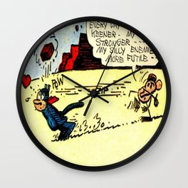 Krazy Kat and Ignatz Wall Clock