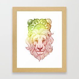 I Believe in the Good Things Coming Framed Art Print