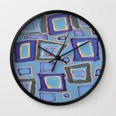 Newport Blue Wall Clock