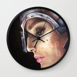 Volontà Indomita | Anime Coraggiose Wall Clock