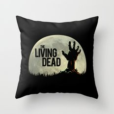The Living Dead Throw Pillow