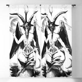 Baphomet - Satanic Church Blackout Curtain