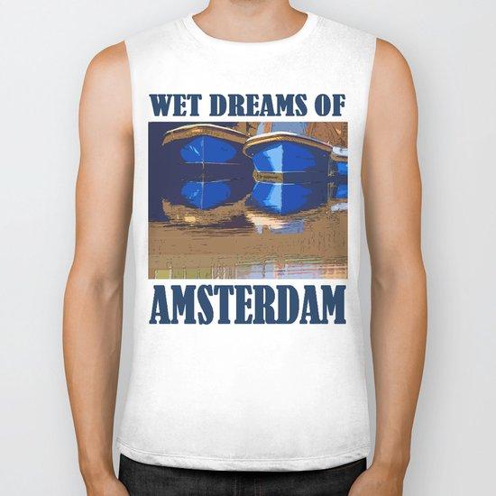 Wet Dreams of Amsterdam Biker Tank