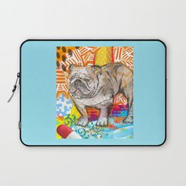 Bulldog pop art Laptop Sleeve