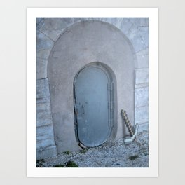 Minecrafts in Cahors Art Print