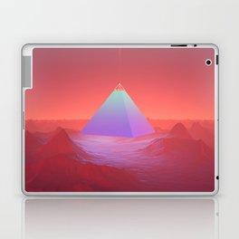 Blue Pyramid Laptop & iPad Skin