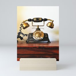 Wating for that call forever Mini Art Print