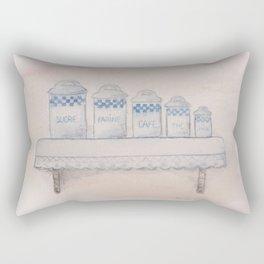 Essai aquarelle Rectangular Pillow