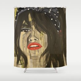 """Age of the Selfie"" 1 Shower Curtain"