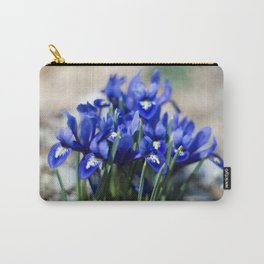 Iris Watercolor Carry-All Pouch