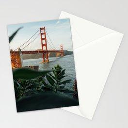 San Francisco bridge Stationery Cards