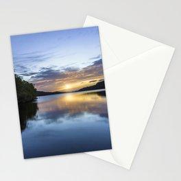 Llyn Padarn Sunset Stationery Cards