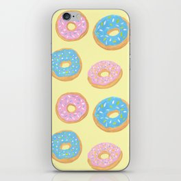 Doughnut Pattern iPhone Skin