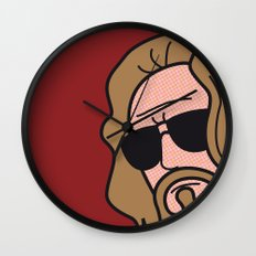 Pop Icon - The Dude Wall Clock