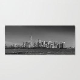 Panoramic Manhattan Canvas Print