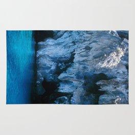 NATURE'S WONDER #3 - BLUE GROTTO #art #society6 Rug