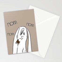 Nom, nom, nom #2 Stationery Cards