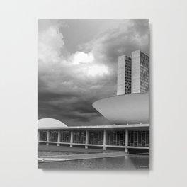 Brasilia Metal Print