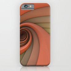 Spiral in Earth Tones iPhone 6 Slim Case