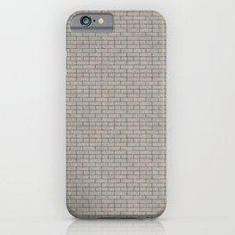 Dark grout brick  iPhone Case