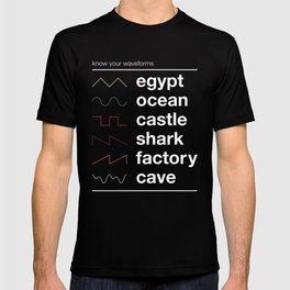 Know your Waveforms T-shirt