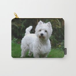 Westie in the garden Carry-All Pouch