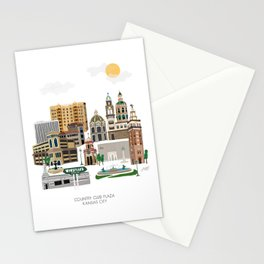 Kansas City Plaza Stationery Cards