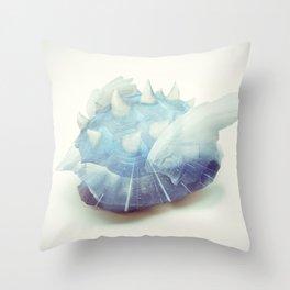 Blue Shell - Kart Art Throw Pillow