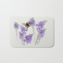 Watercolor Bumble Bee Bath Mat