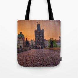Charles Bridge Prague Czech Republic Tote Bag