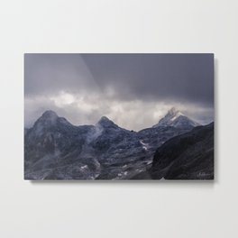 Mountain cottage Metal Print