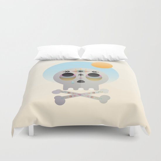 Magic Skull Duvet Cover