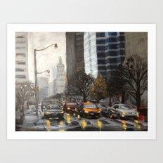 University Ave., Toronto Art Print