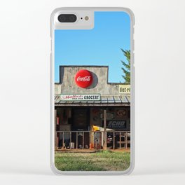 A Look Into The Past Clear iPhone Case